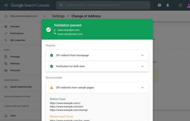 Google Change of Address Tool Comes with New Redirect Validation and Reminders Features